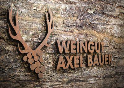 Corporate Design – Weingut Axel Bauer